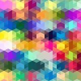 Abstract Cube Shapes. Abstract computer illustrated colorful cube shapes Stock Images