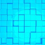 Abstract cubes Stock Photos