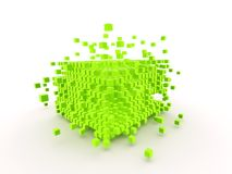 Abstract Cubes Royalty Free Stock Image