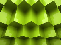 Abstract cubes background. Concept rendered Royalty Free Illustration
