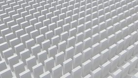 Abstract cubes background 3d render. Abstract white cubes background 3d render for your design vector illustration