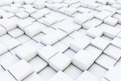 Abstract Cubes background. 3d Rendering. Abstract Cubes extrame closeup background. 3d Rendering Stock Image
