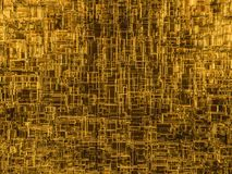 Abstract cubes background with glass. 3D Royalty Free Stock Image
