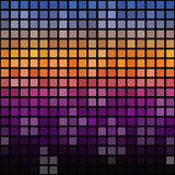 Abstract cubes background Royalty Free Stock Images