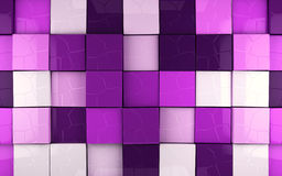 Abstract cubes background Stock Image