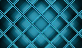 Abstract cubes background rendered. Blue abstract cubes background rendered Royalty Free Stock Photo