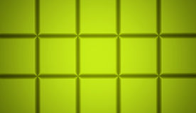 Abstract cubes background. Rendered green Stock Photo