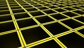 Abstract cubes background rendered. Green abstract cubes background rendered Royalty Free Stock Photo