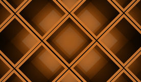Abstract cubes background rendered. Orange abstract cubes background rendered Royalty Free Stock Photo