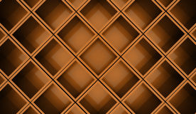 Abstract cubes background rendered. Orange abstract cubes background rendered Royalty Free Stock Photography