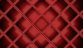Abstract cubes background rendered. Red abstract cubes background rendered Stock Photos