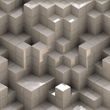 Abstract cubes Royalty Free Stock Photos