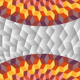 Abstract Cubes Egyptian look background Stock Photography