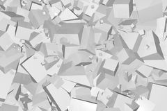 Abstract Cubes Pattern Stock Images