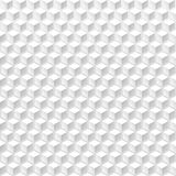 Abstract cubes seamless background. Abstract white cubes graphic geometric background Stock Images