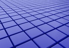 Abstract cubic background Royalty Free Stock Photo
