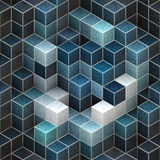 Abstract cubic backgrounds. For your design Stock Photos