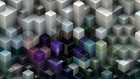 Abstract cubic backgrounds Stock Photo
