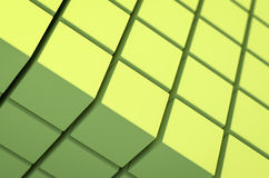 Abstract cubic geometric background Stock Photo
