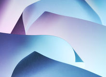 Abstract curled paper background Stock Photos