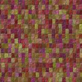 Abstract curled tiles seamless background Stock Photos