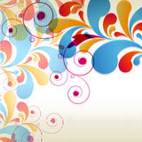 Abstract Curls background for design Stock Photography