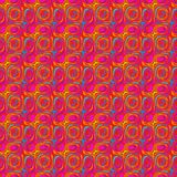 abstract curly pattern red Διανυσματική απεικόνιση