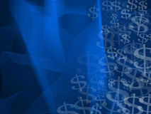 Abstract Currency Symbols Background Stock Photo