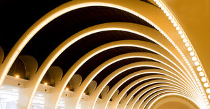 Abstract Curve Architecture Royalty Free Stock Photos