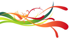 Abstract curve background Stock Photos