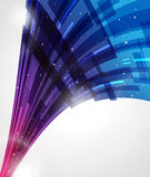 Abstract curve background Stock Photo