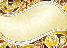 Abstract Curve Background Stock Image