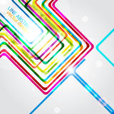 Abstract curve color background Stock Photography