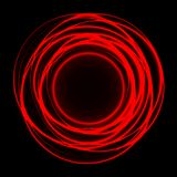 Abstract curve light line woven on red black design modern luxury futuristic background vector. Abstract curve light line woven on red black design modern Royalty Free Stock Photography
