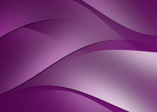 Abstract curve and line purple background Stock Photos