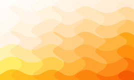 Abstract  curve orange background Royalty Free Stock Images