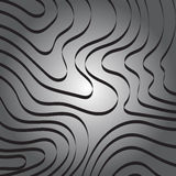 Abstract Curve Ribbon Line on Gray Background Royalty Free Stock Photography