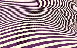 Abstract Curve Stripe Pattern Stock Photography