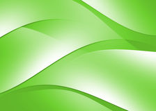 Abstract curve texture green background Royalty Free Stock Photography