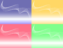 Abstract curved background Stock Photography