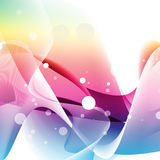 Abstract Curved Background Royalty Free Stock Photos