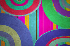 Abstract curved bands Stock Images