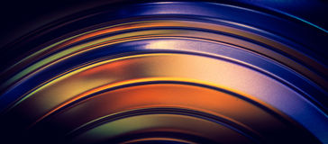 Abstract curved lines royalty free stock photography
