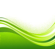 Abstract curved lines background. Template Stock Images