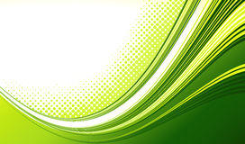 Abstract curved lines background. Template Stock Photography