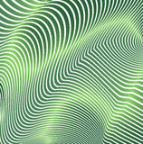 Abstract curved lines in the form of waves. Modern background. Relief zigzags. Stock Photography