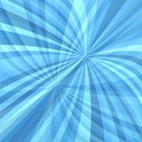 Abstract curved ray burst background - vector graphic from curves in light blue tones. With opacity effect stock illustration