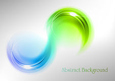 Abstract curves Royalty Free Stock Photo