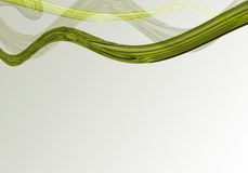 Abstract curves. Abstract background stock illustration