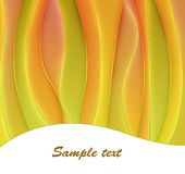 Abstract curves background Stock Photography